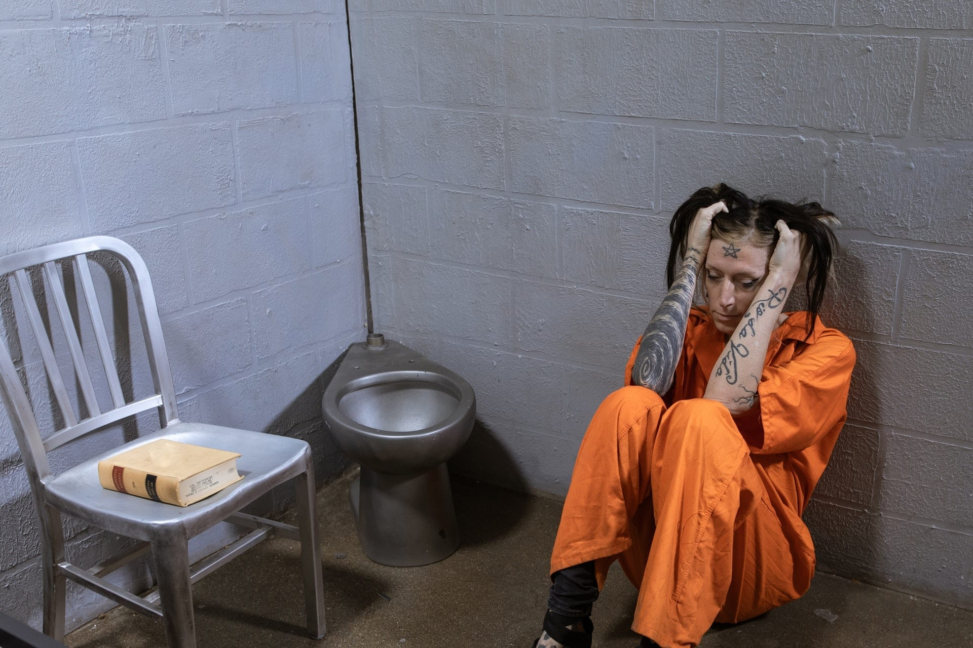 Everyone who comes to prison gets a mental health screening.