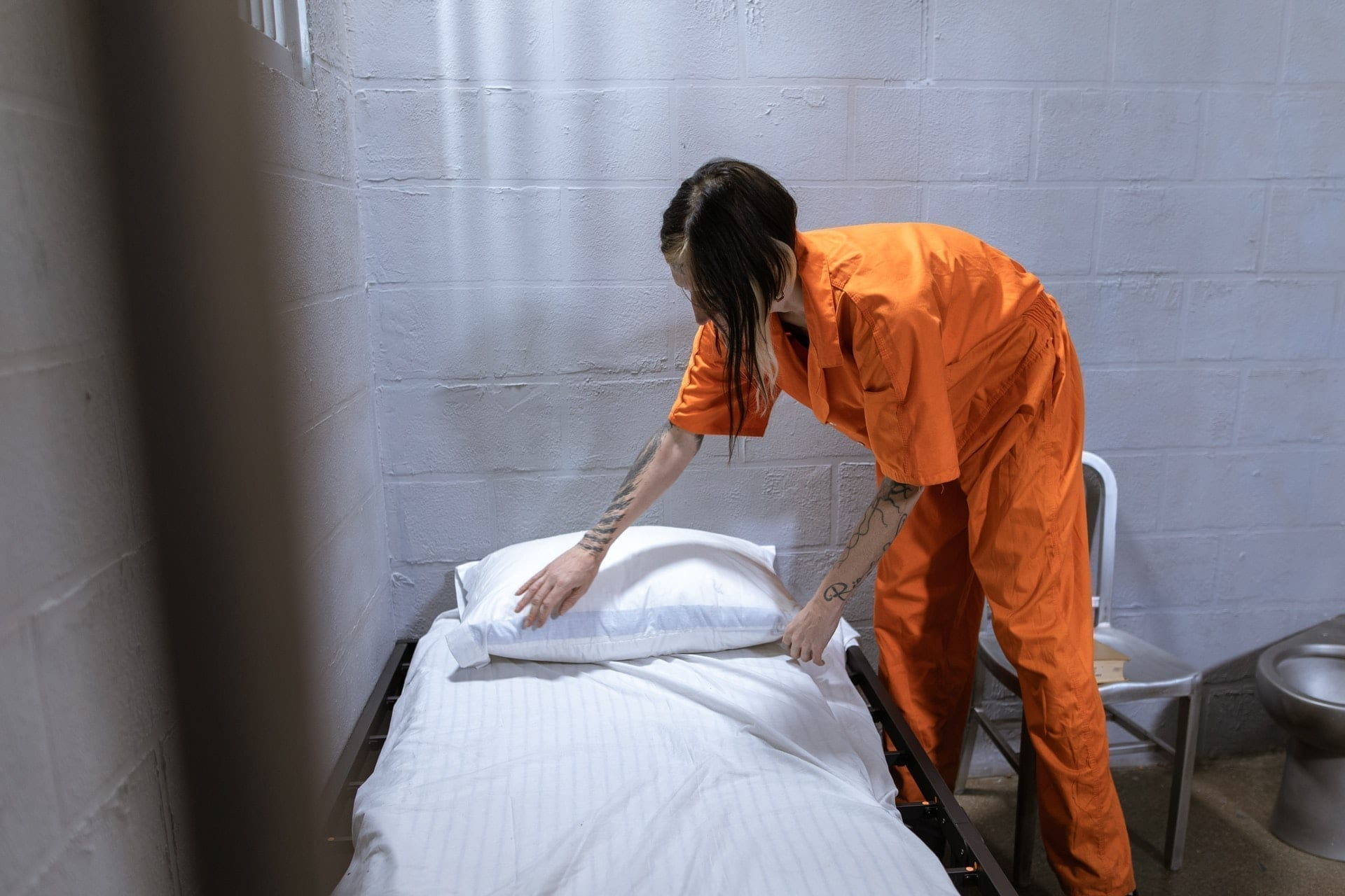 You can take your things with you as part of the federal prison release process.