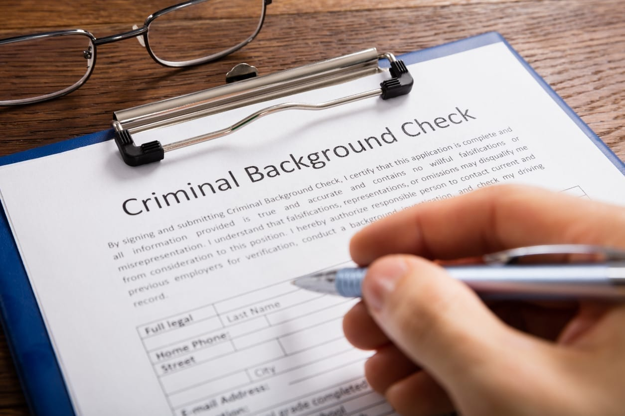 Employers can and do check your criminal history.