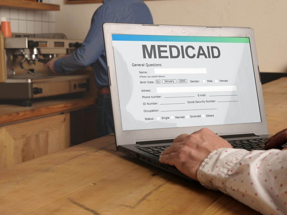 You can apply for Medicaid after prison online, by mail, or in person.