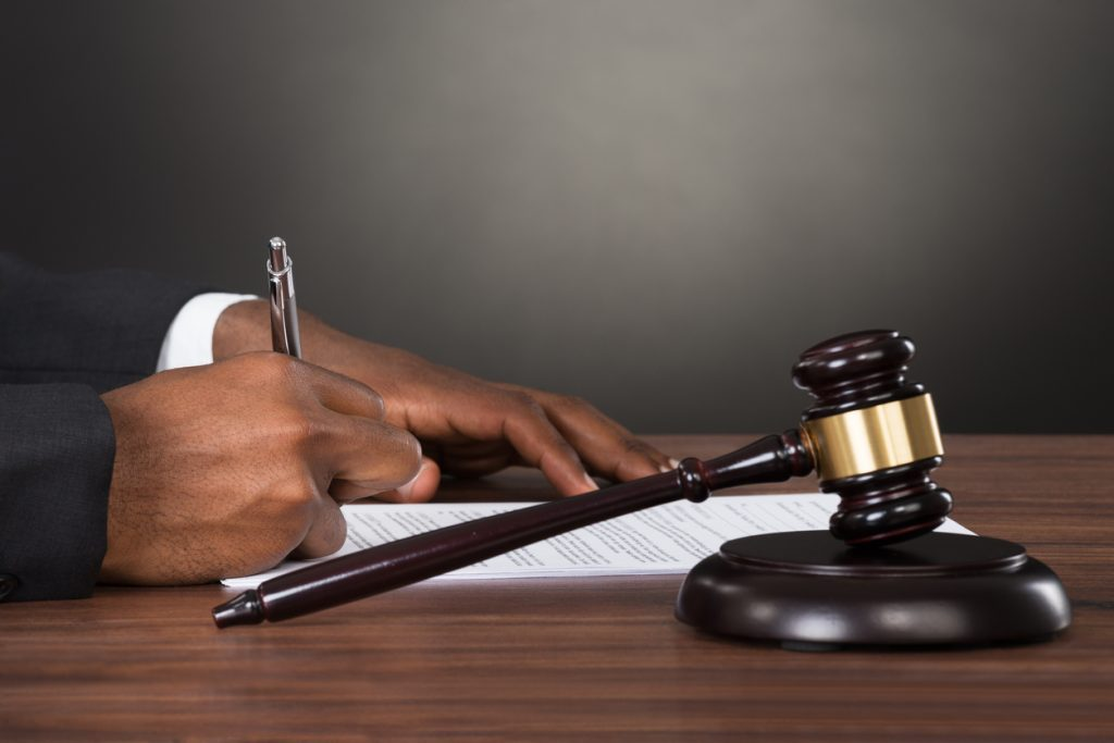 An arraignment is the part of the process in which you are expected to let a judge know what your plea is.