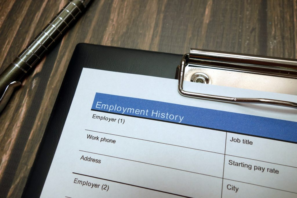 Generally, once an employer decides that you are a strong candidate for employment, they can ask about your criminal history.